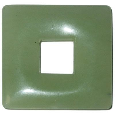 Jadeit prívesok square