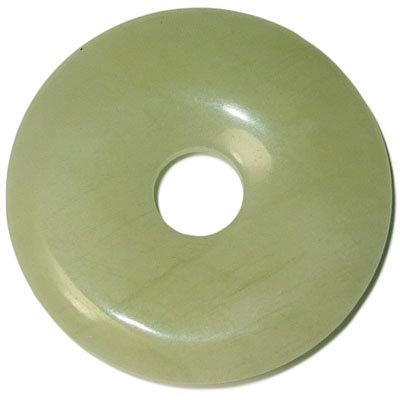 Jadeit prívesok donut