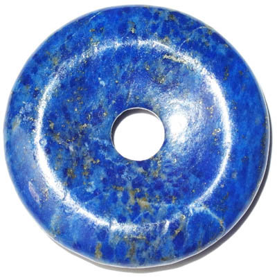 Lapis lazuli prívesok donut