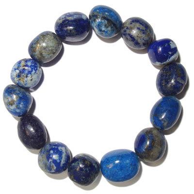 Lapis lazuli náramok olivový