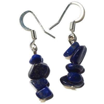 Lapis lazuli náušnice