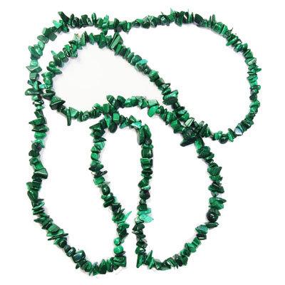 Malachit náhrdelník kúsočkový