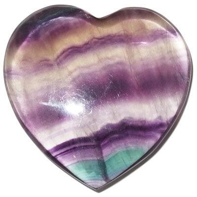 Fluorit srdce